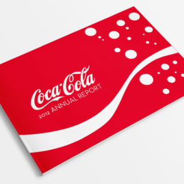 Coca-Cola Redesigned Annual Report